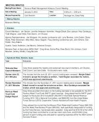 Meeting Minutes Template Free Meeting Minutes Template