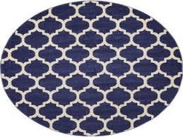 dark blue 8 x 8 trellis round rug area rugs erugs for round rug purple