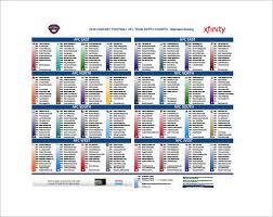 2019 Nfl Depth Chart Excel 69 Actual Nfl Fantasy Football Team Depth Chart