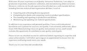 Qa Tester Cover Letter Cover Letter For Tester Resume Quality