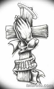 эскиз тату крест на руке 08032019 Tatufotocom 5 Tatufotocom