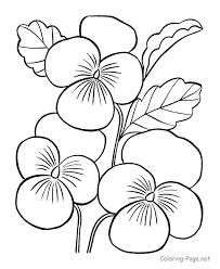 Small Picture Small Flower Coloring Pages Brilliant Preschool With Flowers And