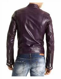 31 off purple faux leather jacket