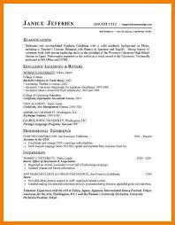 7 Free High School Resume Builder 952 Limos