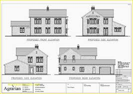 astounding residential house plans and elevations best of building plan section elevation pdf home