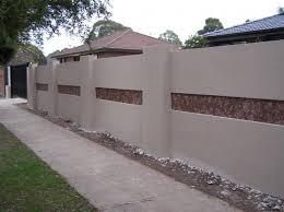 Fence Design Ideas Get Custom Brick Wall Fence Designs