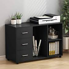 large printer stand. Simple Large Tribesigns 3 Drawer Wood File Cabinets Large Modern Lateral Mobile Filing  Cabinets Printer Stand With Throughout N