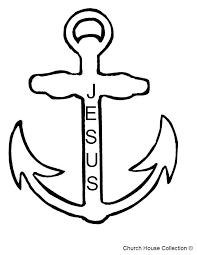 anchor coloring page lovely anchor coloring page or drawn anchor coloring page 7 small anchor coloring