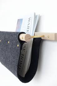 magazine racks for office. modern ash brass and felted wool magazine rackshelf racks for office