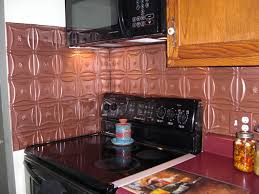 Copper Backsplash Kitchen Copper Tile Backsplash Ideas For Kitchen Hardware Plans