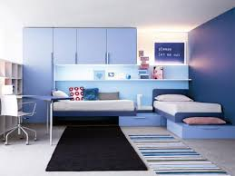 Modern Blue Bedroom