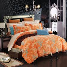 c beige and blue abstract design luxurious indian tribal pattern western style warm color brushed cotton full queen size bedding sets