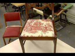 how to reupholster a dining chair this old house
