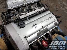 95-00 Toyota Corolla 1.6l Twin Cam 4 CYL Engine 6spd Trans Loom ECU ...