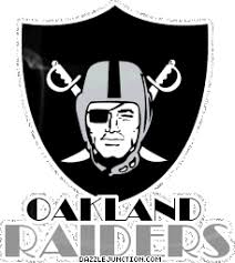 Dazzle Junction: Nfl Logos Oakland Raiders Comment Graphic