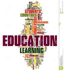 Education Word Cloud Illustration 15229445 Megapixl