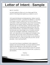 Image Result For Letter Of Intent Template Documentos Pinterest