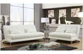 modern white living room furniture. Brookville Modern White Leather Sofa Living Room Furniture R