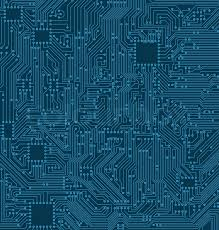 Digital Circuit Background Texture Of Stock Vector Colourbox