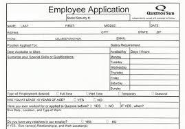 Employee Application Form Free Printable Job Applications Forms To Print Rome Fontanacountryinn Com