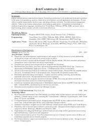 Programmer Resume Sample Awesome Collection Of Computer Developer Resume Example Creative 23