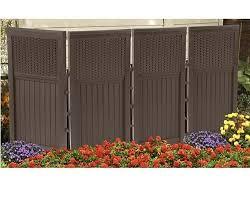 privacy screen outdoor garden folding wall panel trellis