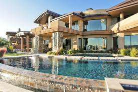 Classic Luxury House With Pool Glass Windows Mansion Home Designs
