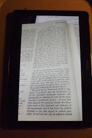 "chaucer s ""general prologue"" to the canterbury tales as a case for figure 1a image shows a black framed tablet computer tablet displays a magnified"