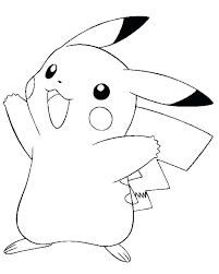 pikachu color pages cute coloring pages with little coloring pikachu color picture
