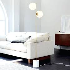 modern bedroom floor lamps with its minimalist balanced form our sphere stem gleaming glass i68
