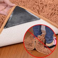 2019 ruggies rug carpet mat grippers non slip grip corners pad 15 7 5cm anti skid reusable washable silicone tidy ooa5134 from liangjingjing no1