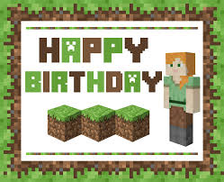 Free Awesome Alex Minecraft Printables For Girls Catch My Party