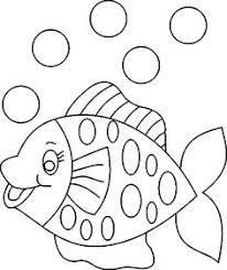 little mermaid fish shadow puppet template