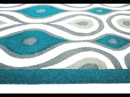 target kitchen rugs top turquoise rug area white corner overdyed r