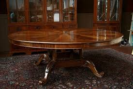 fabulous expanding round dining room table ideas impressive expandable round pedestal dining table expanding round table with self storing leaves solid