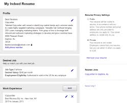 Should You Post Your Resume On Indeed Kordurmoorddinerco Classy Post My Resume