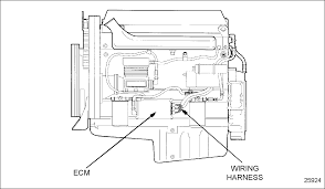 electrical detroit diesel troubleshooting diagrams series 60 ddec ii engine sensor harness