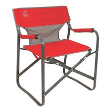 outdoor camping chair. Coleman Outpost Breeze Deck Chair Outdoor Camping