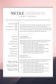 Professional Resume Bundle Resume Instant Download Bold Resume