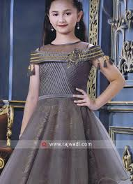 Satin Silk Dress Designs Satin Silk And Net Multi Layered Gown Frocks For Girls