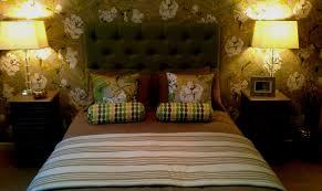 Schlafzimmer Ideen Farbgestaltung Grun Wand Streichen Kreative