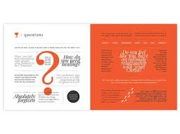Church Welcome Brochure Samples Church Welcome Brochure Questions Spread Religious Design