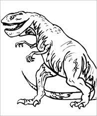 Small Picture Allosaurus Coloring Page Dinosaur Pinterest Activities
