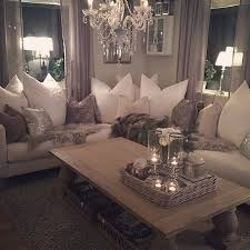 chic living room dcor: the pillows tell when this room was decorated relaxed large cozy living room cornerglam chic