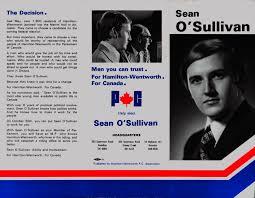 Campaign Brochure Sean Osullivan Campaign Election Brochure