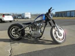 yamaha on the cheap bobber motorcycle build by johnt3
