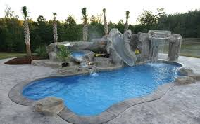 fiberglass pool slide dolphin pools fiberglass pool slidell la