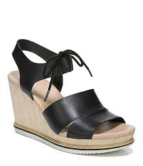original collection by dr scholl s summertime leather wedge sandals dillard s