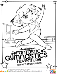 Dora Printable Coloring Pages At Getdrawingscom Free For Personal
