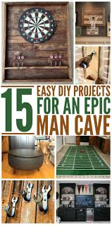 get ready for planning out that special place for him with these epic man cave diy